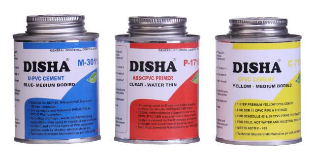 Disha Range - Solvent Cements